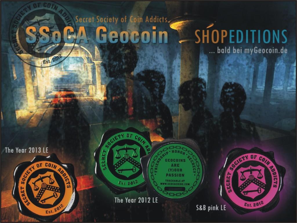 SSoCA-SHOP-Editionen